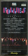 Follies in Concert, Stephen Sondheim - Burnett, Stritch & More - NEW 2 Cassettes