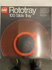 Gaf Rototray 100 Slide Tray Carousel For Gaf Sawyers Ansco Sears Vivitar Wards