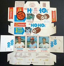 1975 Hostess Rare Ho-Hos Complete Box, Geronimo, Orta, Jones, #121/122/123, FS