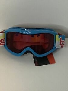 NWT Bolle AMP youth ski goggles snowboard eye protection snow Blue