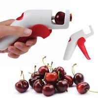Kirsche Entkerner Küche Bar Werkzeug Olive Kern-Entfernung Remover Pressen Neu