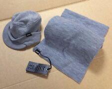 NUOVO ADDICT base Clothing Co Sciarpa A Maglia Method & Grigio Cappello Beanie Uomo Mr Jago