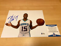 Kemba Walker Hornets Celtics Jordan Autographed Signed 8X10 Photo Beckett COA
