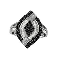 Ring 18K White Gold Plated ValentineÂ's Day Round Simulated Diamond Cluster