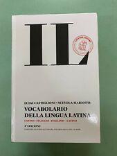 Dizionario di Latino IL Castiglioni Mariotti 4 edizione. Copertina rigida