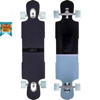 "Longboard SKATEBOARD Freestyle 99cm 39"" Freeride CRUISE STREET CITY ACTION SKY"