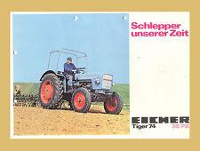Eicher Tiger 74 Original Schlepper 35 PS Original 1973