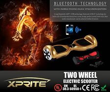 Gold Bluetooth 2 Wheel Hover Board Self Balancing Electric Scooter USA