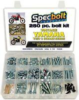 250PC Yamaha YZ IT 125 175 200 250 400 465 490 Bolt Kit body frame engine