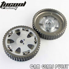 2PCS Cam Gears Pulley For MITSUBISHI EVO 1 2 3 4 5 6 7 8 9 ECLIPSE 4G63