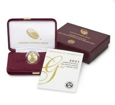 American Eagle 2021 One-Tenth 1/10 Oz Ounce Gold Proof Coin *In hand*