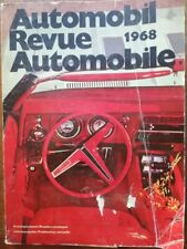 Rare !!! Catalogue AUTOMOBIL 1968 REVUE AUTOMOBILE environ 500 pages de bonheur