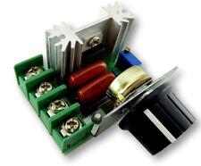 2000W SCR Dimmer 240V AC Voltage Regulator Heater 1000W Fan Speed Regulator #C45