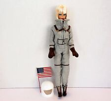 Miss Astronaut My Favorite Career Barbie Doll 2009 Vintage Style Repro #R4474