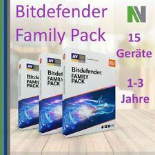 Bitdefender Family Pack 2021 15 PC Geräte 1 2 3 Jahre