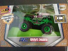 New Bright RC Monster Jam Grave Digger Remote Control Truck.