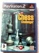 30419 Play it Chess Challenger-Sony ps2 Playstation 2 (2003) SLES 51630
