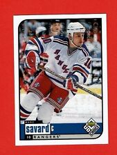 1998-99 UD Choice RESERVE parallel # 133 Marc Savard NEW YORK RANGERS