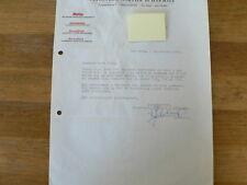 HT175-NORTIER EN HARMSZE UITGEVERIJ 1963 REDACTIE HAND SIGNED AUTOGRAPH