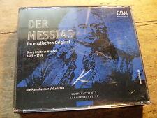 Händel - Der Messias - Englischen Original [2 CD Box] Mannheimer Solisten RBM
