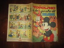 WALT DISNEY ALBO D'ORO 1°RISTAMPA N°101 MAG 1951 TOPOLINO E LE GESTA DI FOLGORE