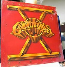 The Commodores Heroes 9 track 1982 LP SEALED! SPAIN