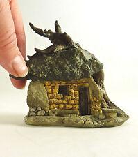 Miniature Fairy Garden Rock House w/ Tree/Dollhouse Terrarium Troll  House 16522