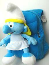 Smurfs plush blue doll Backpack bag satchel Smurfette free shipping