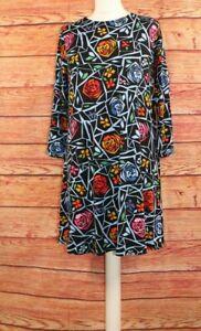 TU Ladies Dress Tunic 3/4 Sleeve Stretchy Jersey Viscose UK 12