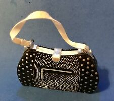 Black Sequined Hobo Bag Holiday Ornament