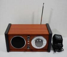 Crosley Audiophile Am/Fm Radio Receiver w/ Analog Tuner Brown Cr3018A Works!
