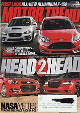 Motor Trend Apr 2014 - Subaru WRX - Ford Focus ST - Audi RS 5 - Mercedes C63 507