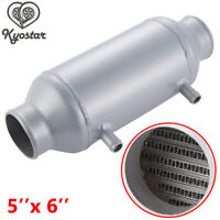 "Racing 5"" x 6"" Barrel Water to Air Intercooler In/outlet 3'' Turbo Supercharger"