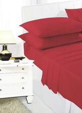 Linge de lit et ensembles rouge contemporains pour chambre à coucher