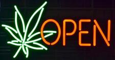 "New 4:20 Weed Leaf High Life Open Bar Lamp Shop Pub Neon Light Sign 20""x16"""