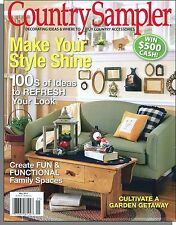 Country Sampler - 2011, May - Make Your Style Shine, Ideas to Refresh Your Look
