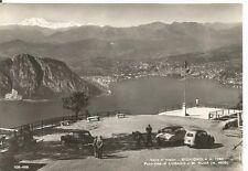 160744 COMO SIGHIGNOLA - LUGANO SVIZZERA - M. ROSA Cartolina FOT. viaggiata 1964