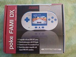 POKE FAMI DX Nintendo Family console portable SFC SUPER NINTENDO Famicom SNES