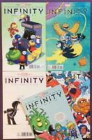 Infinity #1 to #5. RARE Skottie Young Variants. Marvel 2012