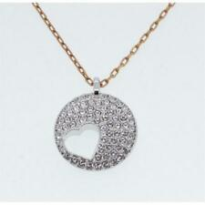 Swarovski Ladies Necklace With Heart Pendant Crystal Wishes Silver Gold 5255351