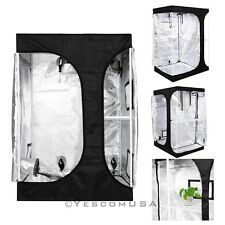 2-in-1 100% Reflective Mylar Hydroponics Indoor Grow Tent Propagation and Flower