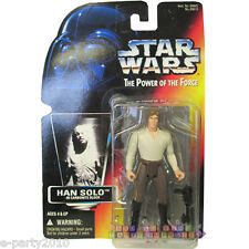 STAR WARS Power of the Force HAN SOLO in CARBONITE FIGURE ~ Collectible Toy Red
