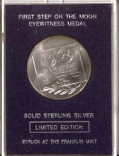 Sterling Silver Medal | 1st Step on the Moon | Eyewitness Medal (RC16663)
