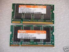 Hynix 512MB (2x256MB) DDR Memory PC-3200S 400MHz (03) HYMD232M646D6-D43