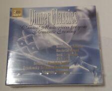 2 CD SET DINNER CLASSICS SLEEP MUSIC CLASSICAL MUSIC RELAX MUSIC FACTORY SEALED