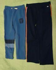 Lot of 2*Boy's Gap Pants Sweatpants*Light Blue*Navy w/Red & White stripe*Large