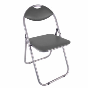 New Paris Folding Chair Faux Leather Padded fold-up chair -Office/Home/Computer