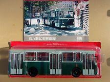 n° 68 FIAT 418 AC/M MENARINI Autobus et Autocar du Monde  1/43 Neuf Boite NEW