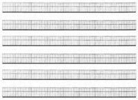 Faller 180413 gauge H0, Protection Fence, 49 5/8in (3 3/12ft =