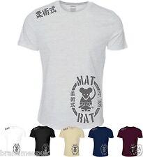 Mat Rat BJJ T-Shirt Brazilian Jiu Jitsu Rio De Janeiro Gracie UFC Grappling Top